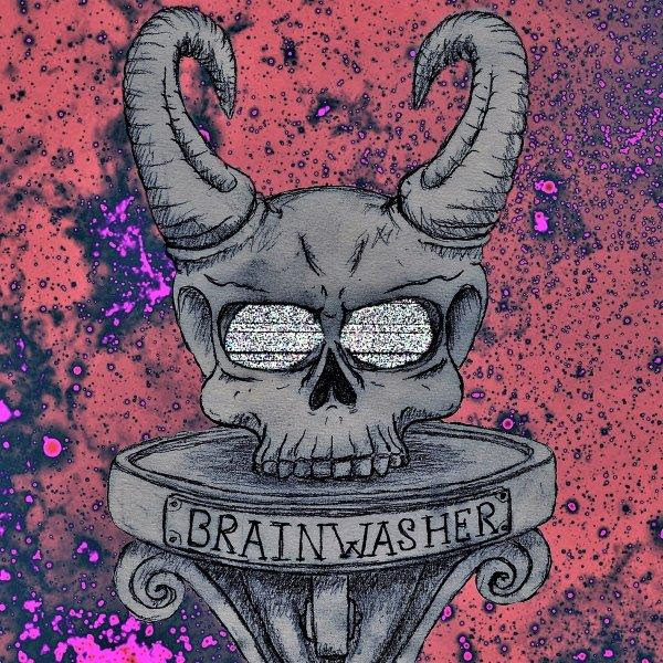The Crystal Moth - Brainwasher Single Cover