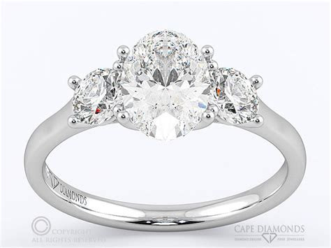 Trilogy Engagement & Wedding Ring Collection : Cape Diamonds