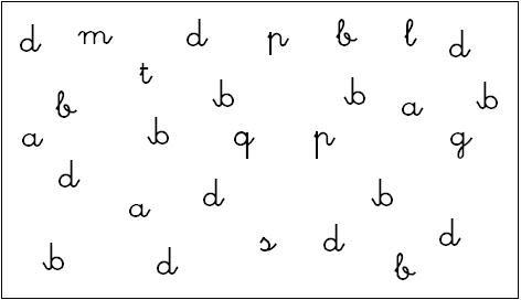 Discriminaci%C3%B3n visual grafemas Cómo enseñar a leer y escribir a niños disléxicos