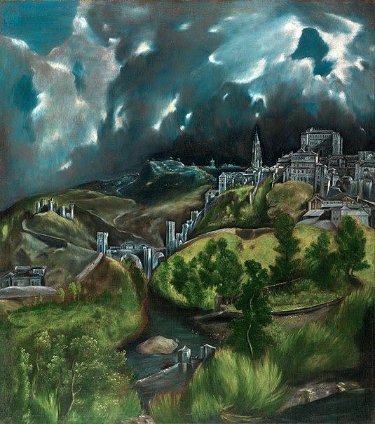 A golpes de centenariazo. Reflexiones y recursos sobre El Greco 2014. Vista de Toledo