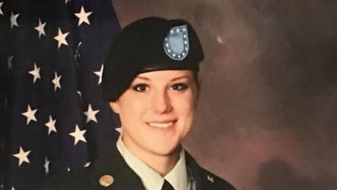 An Army Reserve soldier from Kansas, Christina Marie Shoenecker, died Monday in a non-combat related incident in Baghdad, the military announced on Tuesday. It was her first deployment.