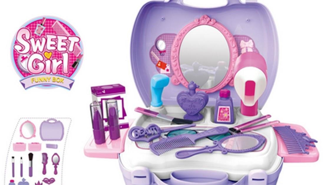 Comprar Nuevo 21 Unids set Niños Belleza Maquillaje Bolsa De Cosméticos  Funda Transporte Juguetes Juego Simulación Secador Pelo Regalo Niñas Online  Baratos ... eff6f6a76d6