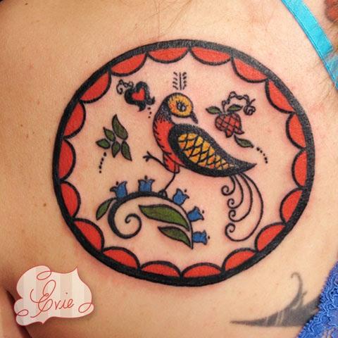 Dutch Tattoos on Back To Tattoo