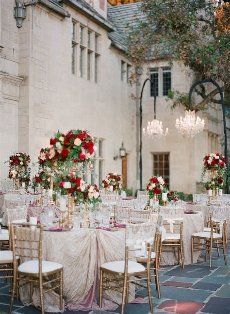 Glamorous California Wedding at Greystone Mansion   MODwedding
