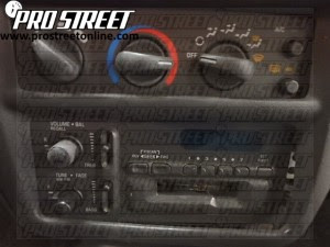 Chevy Cavalier Stereo Wiring Diagram - My Pro Street
