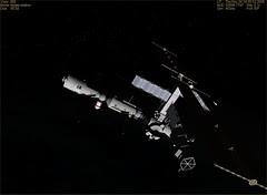 ISS Light - Earth Dark 11-24-05