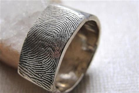 Mens Fingerprint Ring   Cargoh