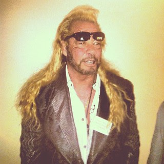 Dog the Bounty Hunter appears in NM House of Representatives to support a bill establishing minimum requirements for bounty hunters