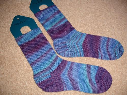 Charlotte's birthday socks
