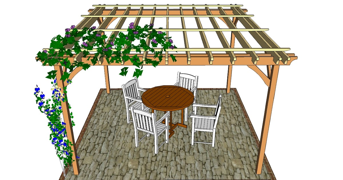 Depols pergola construction instructions for Garden outlay ideas
