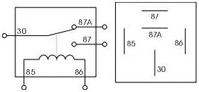 12 V Relay Wiring Diagram 5 Pin