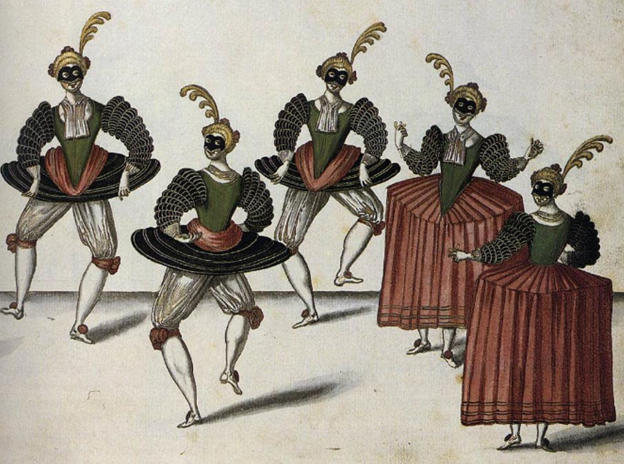 The Royal Ballet of the Dowager of Bilbao's Grand Ball, 1626.