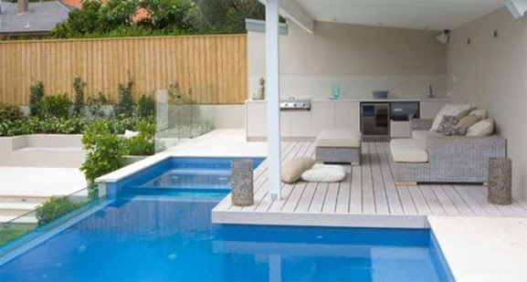 Simple Outdoor Swimming Pool