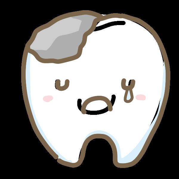 虫歯のイラスト かわいいフリー素材が無料のイラストレイン