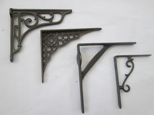Cast Iron Vintage Old Style Shelf Support Book Sink Toilet ...