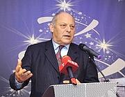 Il presidente della Provincia di Bolzano, Luis Durnwalder (Ansa)