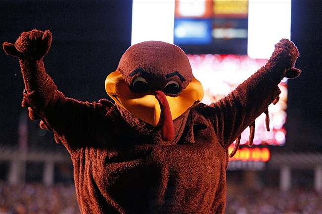 Vote For The Hokie Bird In The Capital One Mascot Challenge 2013
