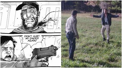 How Did Shane Die In The Walking Dead Comic