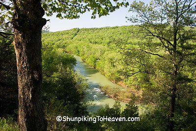 Mulberry River, Ozark National Forest, Franklin County, Arkansas