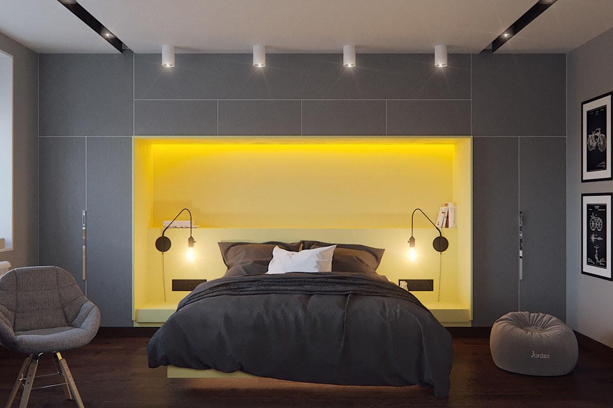 Five Shades of Grey Bedroom Design Ideas | iDesignArch ...