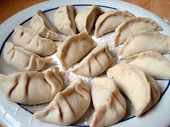 Wrapped dumplings