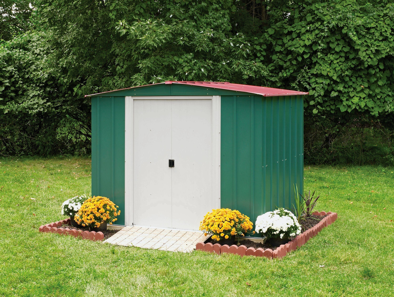 Garden shed metal