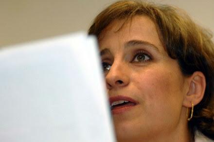 Carmen Aristegui. Foto: Benjamín Flores