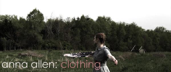 anna allen: clothing