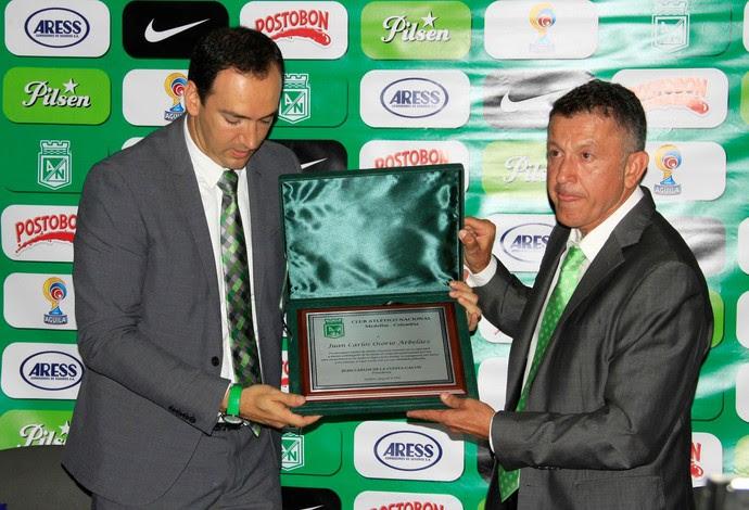 Juan Carlos Osorio despedida Atlético Nacional (Foto: Reprodução / Facebook)