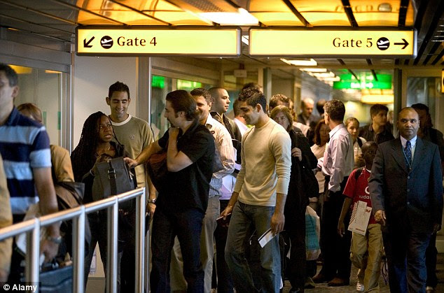 Form an orderly line: The rules of queuing are simple. Find the back. Start there. Your turn will come