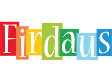 firdaus logo  logo generator smoothie summer