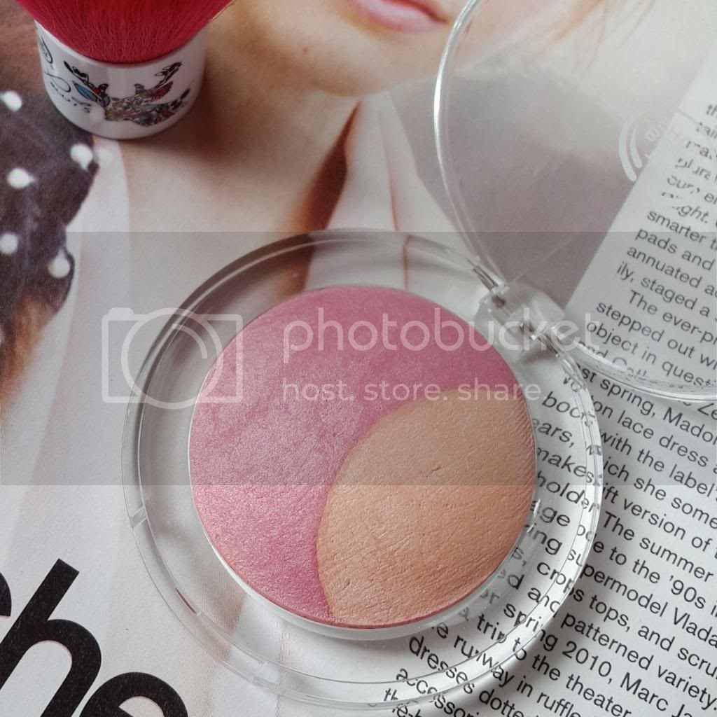 the body shop baked to last coral blush