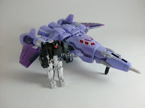 Transformers Cyclonus Classics Henkei - modo alterno
