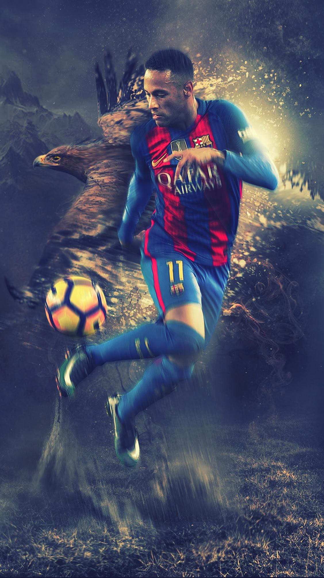 Neymar - HD Wallpaper by Kerimov23 on DeviantArt