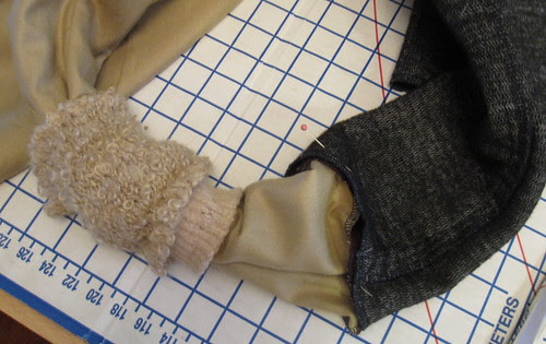 Inner Cuff Over Lining and Interlining