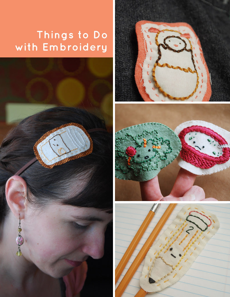 Things to Do with Embroidery