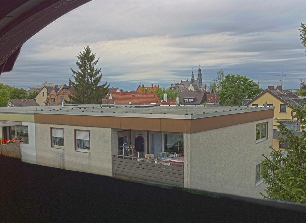 Aussicht aus dem Badfenster