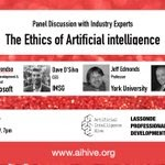 RT @blockchainhubb: Worth watching! A recorded session from @aihive_org on #Ethics of #Artificialintelligence https://t.co/w8D7UsfsiY
