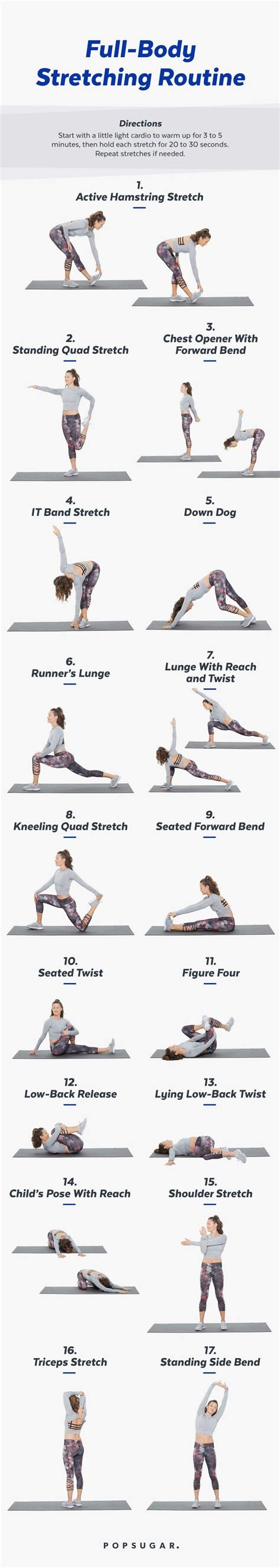 stay flexible  stretch  weekly workout