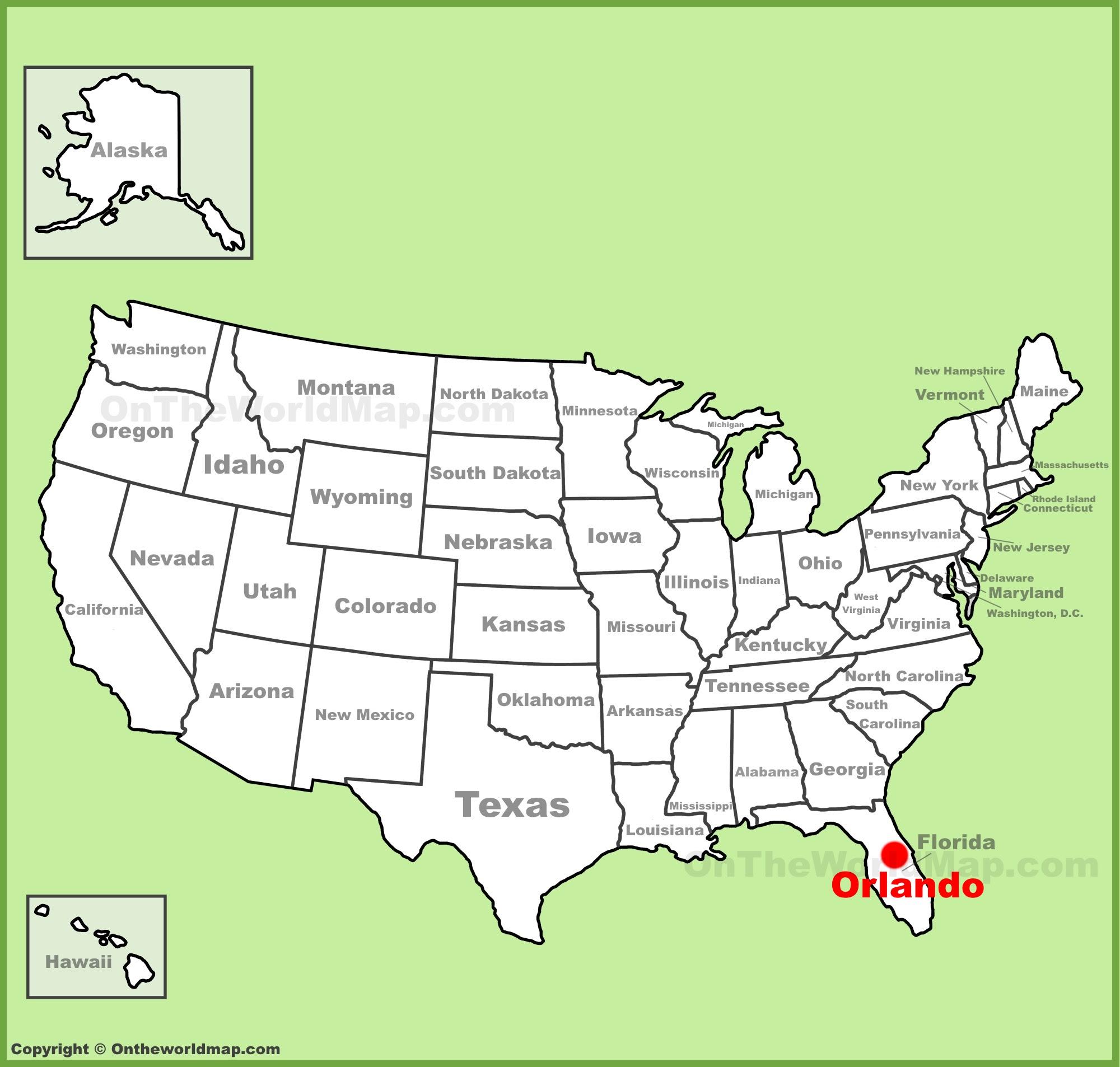 Orlando Maps Florida U S Maps Of Orlando