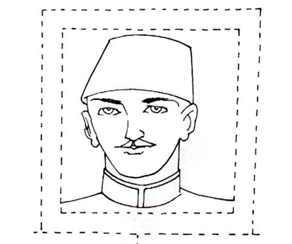 Boyama Ataturk Resmi Ust Ev Boyama Sayfasi