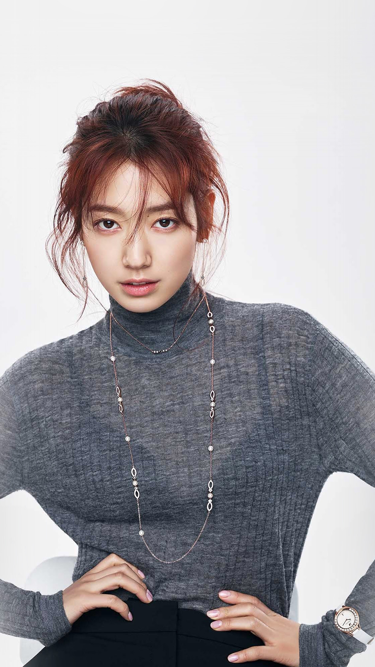 I Love Papers Hm69 Kpop Girl Pose Photoshoot Park Shinhye