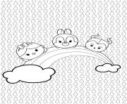 Coloriage Tsum Tsum à Imprimer