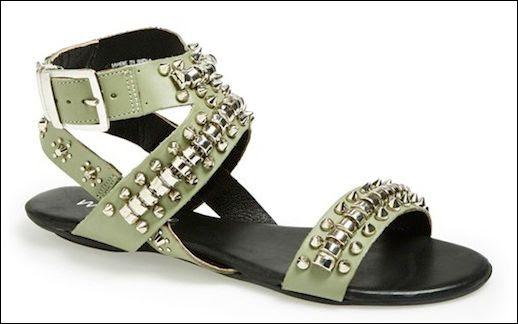 Le Fashion Blog Shoe Crush Matisse Elevate Khaki Green Studded Flat Leather Sandals Statement Spring Summer Shoes Side 1 photo Le-Fashion-Blog-Shoe-Crush-Matisse-Elevate-Khaki-Green-Studded-Flat-Leather-Sandals-Side-1.jpg