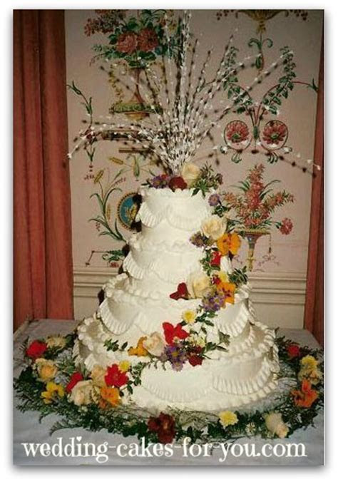 Wedding Cakes With Fresh Flowers are Naturally Breathtaking