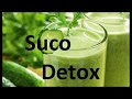 Suco detox de maçã e pepino. Poderoso emagrecedor natural. Ajuda a regular a pressão sanguínea.