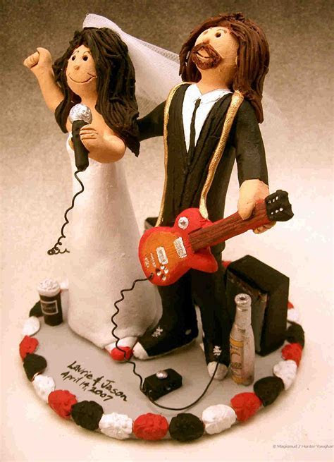 wedding cake toppers: Musical Wedding Cake Toppers