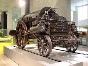 Locomotiva Rocket, păstrată în Muzeul de Ştiinţe din Londra (Imagine: Wikipedia)