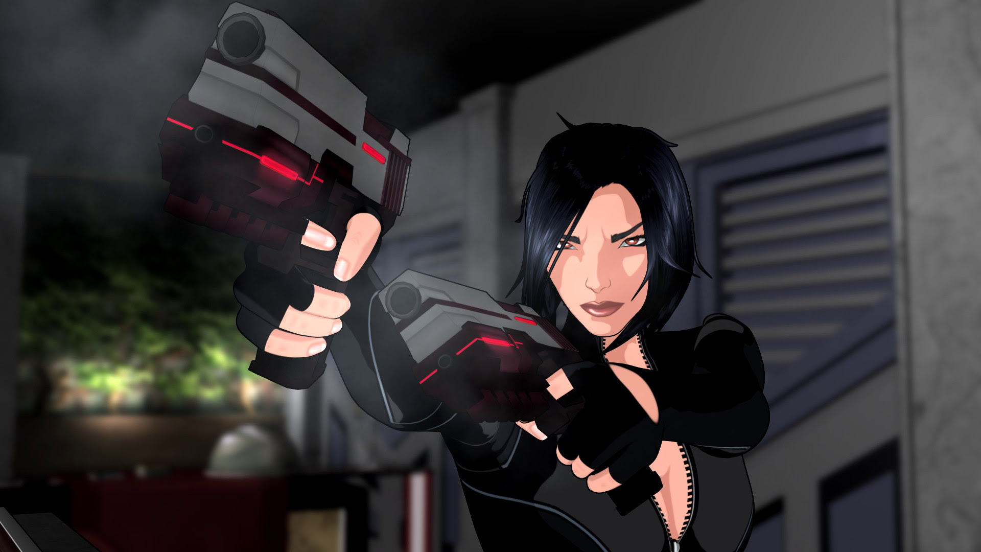 Fear Effect Sedna has a very bad puzzle, worse dialogue screenshot