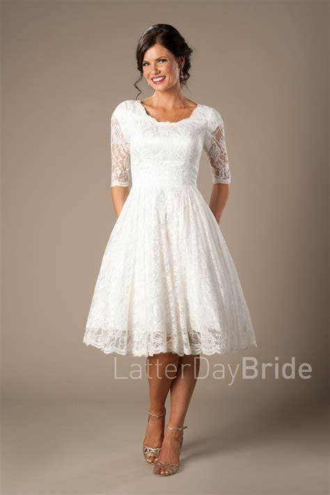Quinn   Modest Wedding Dress   LatterDayBride & Prom   SLC